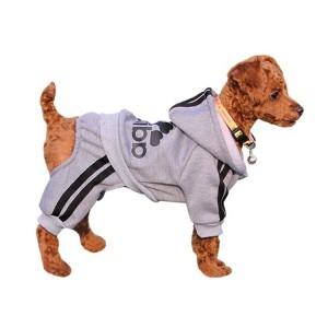 Wholesale Custom Cotton Blank Pet Dog Cotton Hoodie Hoody Clothe