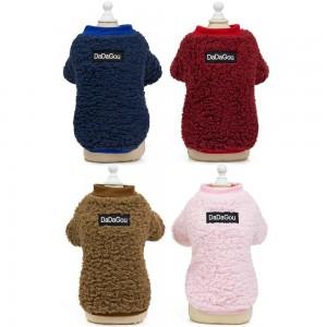 Wholesale Custom Cotton Blank Pet Dog Cotton Hoodie Hoody Clothes