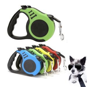 Pet dog automatic retractable dog belt pet collar